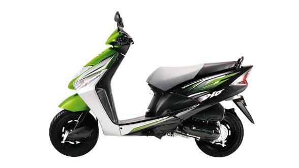 Схема электрооборудования Honda Dio (цветная)