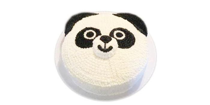 Cute Panda Cakes